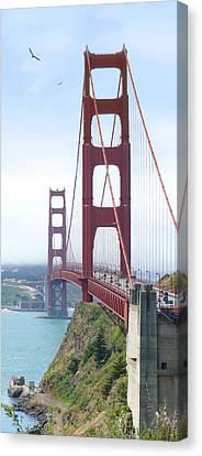 Golden Gate Bridge Canvas Print by Mike McGlothlen