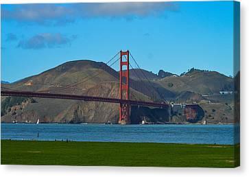 Golden Gate Bridge Canvas Print by Miranda Strapason