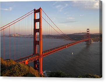 Canvas Print featuring the photograph Golden Gate Bridge by Nathan Rupert