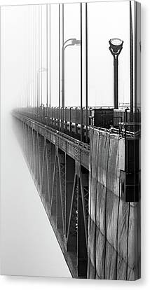 Canvas Print - Golden Gate Bridge Portrait  by Bill Gallagher