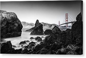 Golden Gate Colour Canvas Print