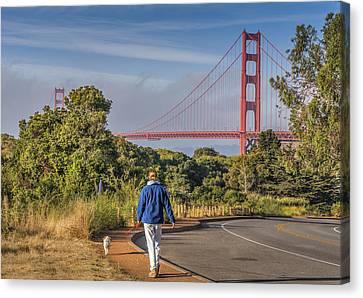 Golden Gate II Canvas Print by Phil Clark
