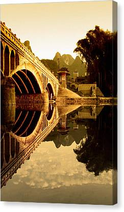 Asia Canvas Print - Golden Gate by Royce Gorsuch