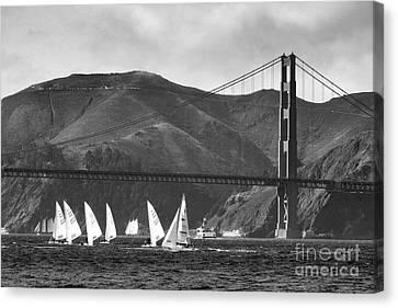 Golden Gate Seascape Canvas Print