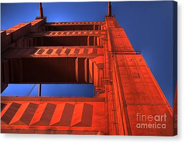 Golden Gate Tower Canvas Print by Jim and Emily Bush
