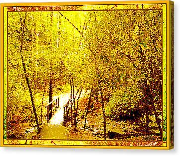 Canvas Print - Golden Glow by Seth Weaver
