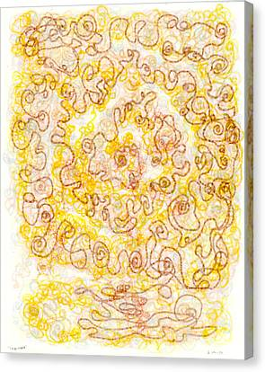 Golden Harvest Canvas Print by Regina Valluzzi