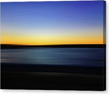 Golden Horizon Canvas Print