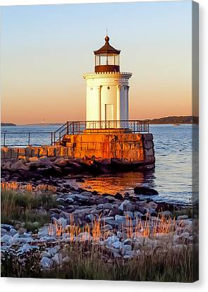 Golden Hour Canvas Print by Laurie Breton