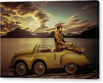Golden Hour Canvas Print by Randy Turnbow