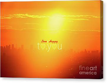 To You #002 Canvas Print