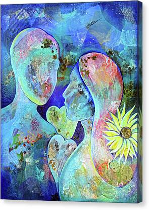 Special Occasion Canvas Print - Golden Memories by Shadia Derbyshire