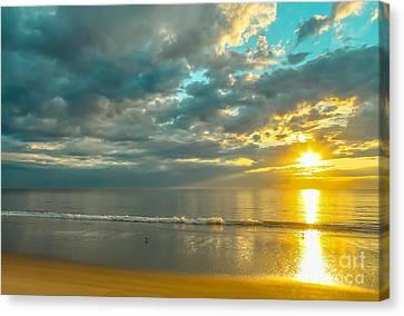 Golden Morning Canvas Print