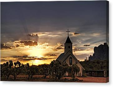 Golden Morning Light  Canvas Print by Saija  Lehtonen