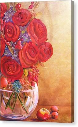 Golden Oldies Canvas Print by Dana Redfern
