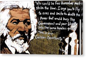 Golden Opportunity Canvas Print by Tamerlane Bey