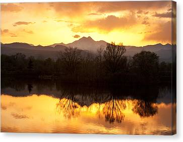Golden Ponds Longmont Colorado Canvas Print by James BO  Insogna