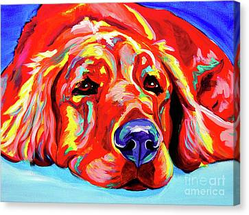 Golden Retriever - Ranger Canvas Print