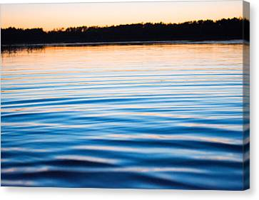 Golden Ripples Canvas Print by Parker Cunningham