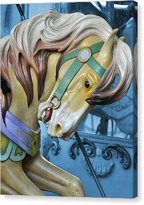 Golden Steed Canvas Print by JAMART Photography