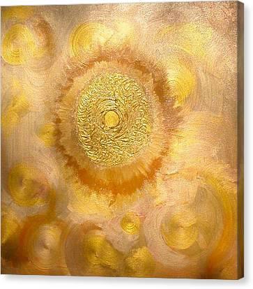Golden-sun Canvas Print by Ramon Labusch