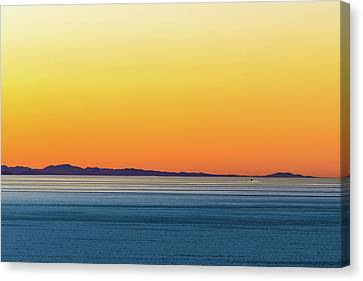 Golden Sunset Series I Canvas Print