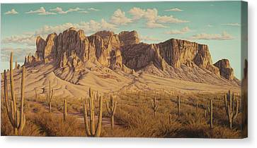 Golden Superstitions Canvas Print