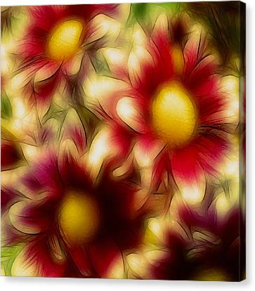 Golden Canvas Print by Susan  Epps Oliver