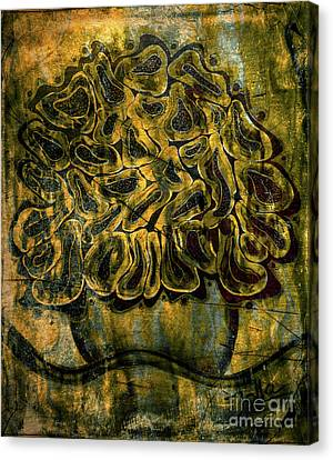 Golden Tapestry Canvas Print by Jolanta Anna Karolska