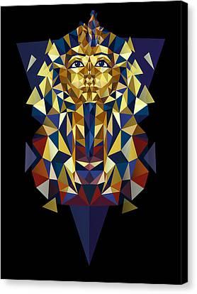 Golden Tutankhamun Canvas Print