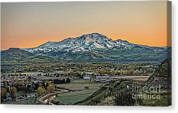 Golden Valley Canvas Print by Robert Bales