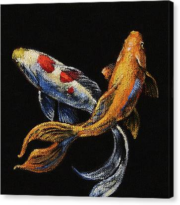 Goldfish Crossing II Canvas Print by Tracie Thompson