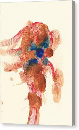 Goldfish- #ss14dw029 Canvas Print by Satomi Sugimoto