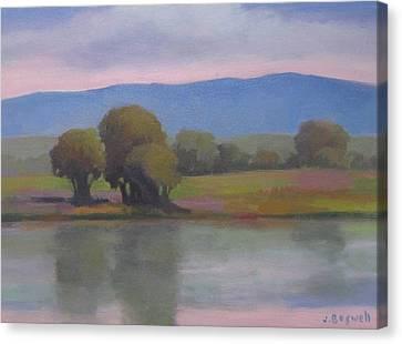 Goleta Estuary Canvas Print by Jennifer Boswell