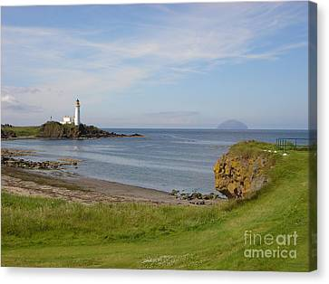 Golf At Turnberry Scotland Canvas Print by Jan Daniels