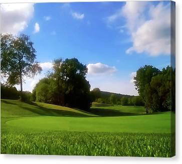 Golf Course Landscape Canvas Print