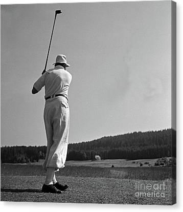 Pleasure Driving Canvas Print - Golf by German School
