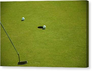 Golf - The Longest Inch Canvas Print by Chris Flees
