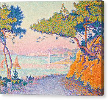 Signac Canvas Print - Golfe Juan by Paul Signac