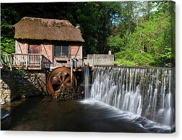 Gomez Mill In Spring #1 Canvas Print by Jeff Severson