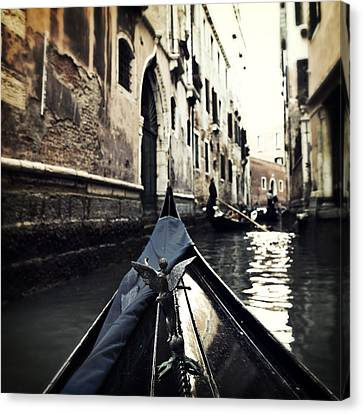 gondola - Venice Canvas Print by Joana Kruse