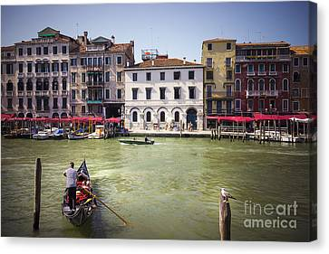 Gondola Sailor Canvas Print by Svetlana Sewell