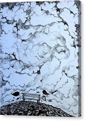 Gone Canvas Print by Anna Duyunova