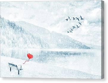 Gone Canvas Print by Iryna Goodall