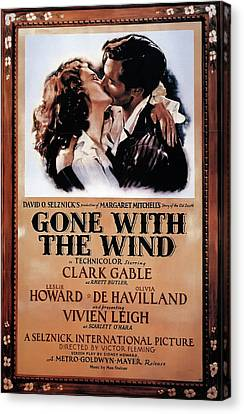 Gone With The Wind 1939 Canvas Print