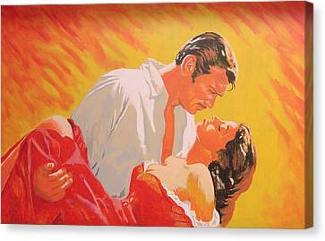 Gone With The Wind Canvas Print by Bob Gregory