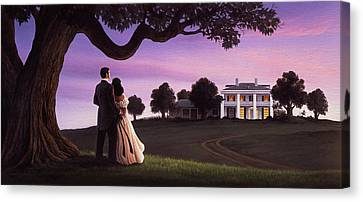 Canvas Print - Gone With The Wind by Jerry LoFaro