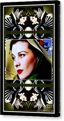 Gone With The Wind Canvas Print by Wbk