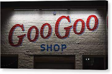 Goo Goo Canvas Print by Stephen Stookey