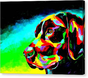 Good Boy Canvas Print by Mike OBrien
